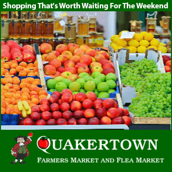 The historic Quakertown Farmers Market and Flea Market is conveniently located to the campgrounds. Click this button to visit their site. You will be taken off this site and connected to the Quakertown Market web site.
